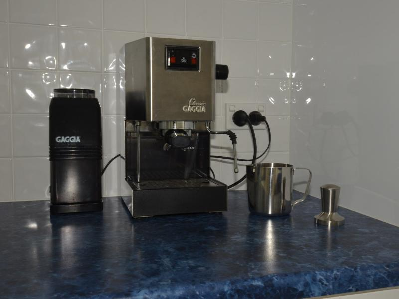 Gaggia Coffee Machine.JPG